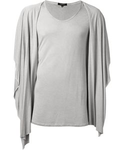 Unconditional | Hooded Draped T-Shirt