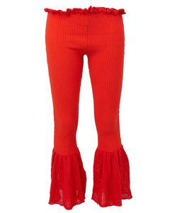 Helen Lawrence | Knitted Flared Trousers Women Small
