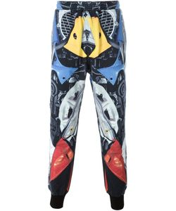 KTZ   Abstract Print Cuffed Trousers