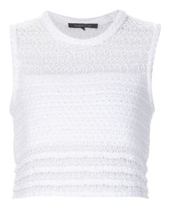Thakoon Addition | Knitted Cropped Tank