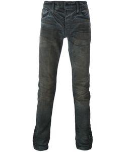 Mastercraft Union | Coated Slim Jeans 32 Cotton/Polyurethane