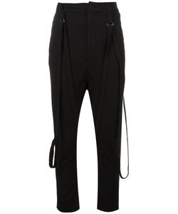 Poème Bohémien | Attached Braces Drop-Crotch Trousers