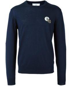 AMI Alexandre Mattiussi   Chest Patch Sweater Xxl Wool