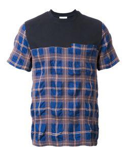 Tim Coppens   Plaid T-Shirt Xl Cotton/Wool