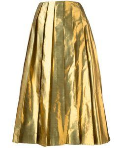 Arthur Arbesser | Pleated Skirt 40 Polyester/Silk