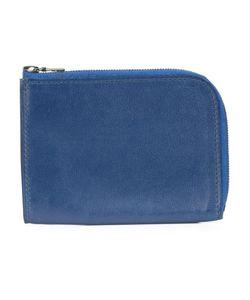 Isaac Reina | Zipped Wallet Adult Unisex Calf Leather