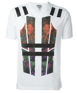 Les Hommes Urban | Abstract Print T-Shirt