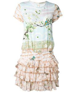 Piccione.Piccione | Piccione. Piccione Nature Print Ruffle Dress 40