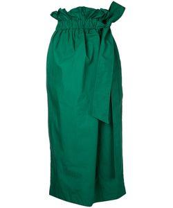 Le Ciel Bleu | Paper Bag Belted Skirt Women