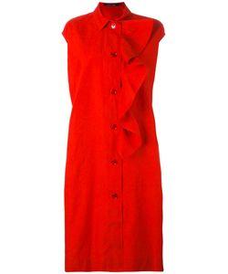 Sofie D'hoore | Frill Placket Shirt Dress