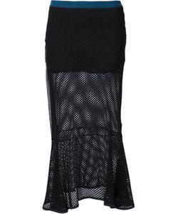 Musée   Mesh Fishtail Skirt