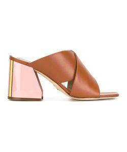 Paula Cademartori | Crossed Strap Sandals