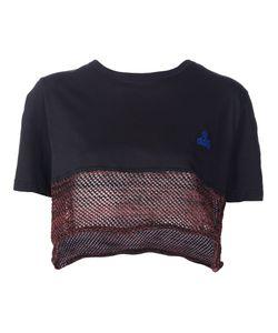 Vivienne Westwood Gold Label | Mesh Hem Cropped T-Shirt