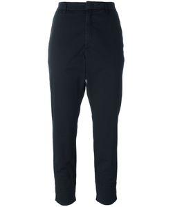 Hope | Folded Hem Trousers 42 Cotton/Spandex/Elastane