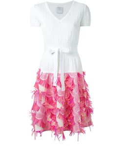 Ingie Paris | Fringed Knit Dress