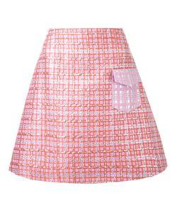 Ingie Paris   Brocade A-Line Skirt