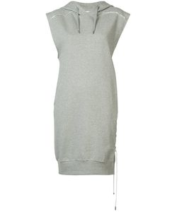 Public School | Lace-Up Hoodie Dress