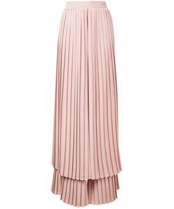 Sara Battaglia | Pleated Layered Trousers