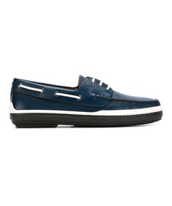 Tod's | Rubber Sole Deck Shoes 6.5