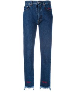 Forte Couture | Stepped Hem Slim Jeans