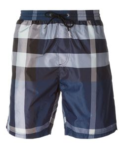 Burberry Brit | Plaid Print Swim Shorts