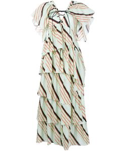 Sonia Rykiel | Stripe Tiered Dress