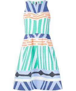 Novis | Geometric Print Flare Dress