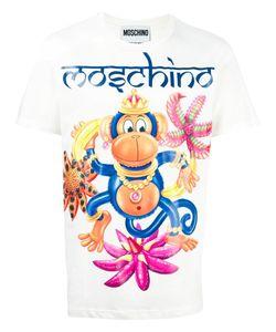 Moschino | Monkey Print T-Shirt Small Cotton