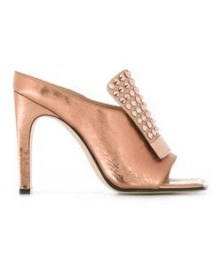 Sergio Rossi   Studded Trim Sandals Size 37