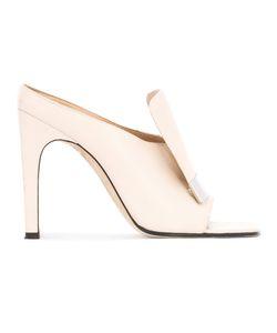 Sergio Rossi | Sr1 Open Toe Mules Size 37.5