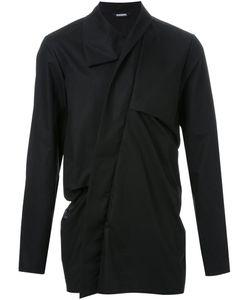 Moohong | High Collar Draped Shirt