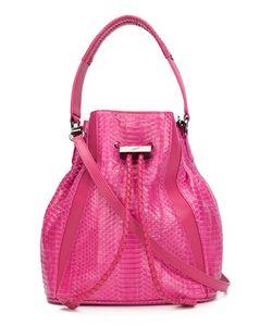 Khirma Eliazov   Python Skin Bucket Bag