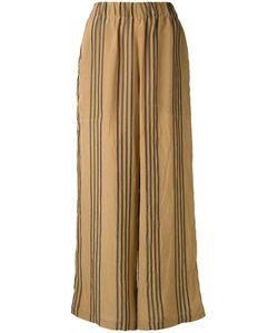 Uma Wang | Striped Flared Trousers