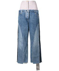 Natasha Zinko | Oversized Patchwork Jeans
