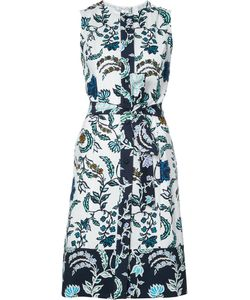 Oscar de la Renta | Print Wrap Dress Size 10