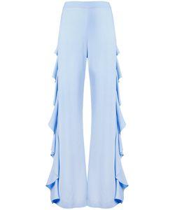Sara Battaglia | Draped Side Detail Trousers Size 42