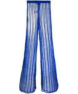 Balmain | Long Ladder Stitch Trousers