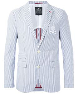 Loveless | Striped Two Button Blazer