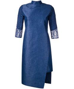 Taro Horiuchi | Mandarin Neck Asymmetric Dress