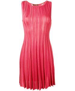 Roberto Cavalli | Striped Skater Dress Size 44