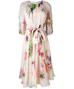 Blumarine | Print Flared Dress