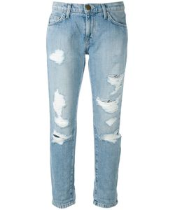 Current/Elliott | Cropped Distressed Jeans Size 29