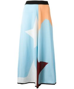 I'M Isola Marras | Geometric Print Skirt Size Small