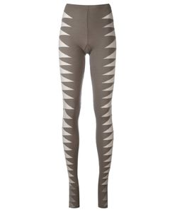 Rick Owens Lilies | Mesh Insert Leggings Size 42