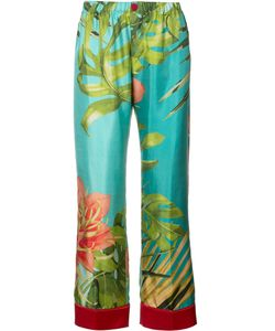 For Restless Sleepers | F.R.S Tropical Print Pyjama Trousers