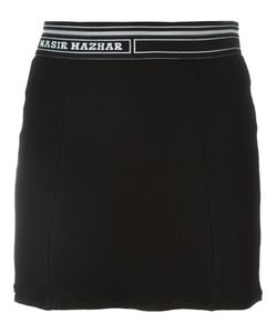 Nasir Mazhar | Waffle Mini Skirt