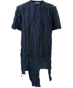 Matthew Miller | Idaho Destroyed Linen Oversized T-Shirt