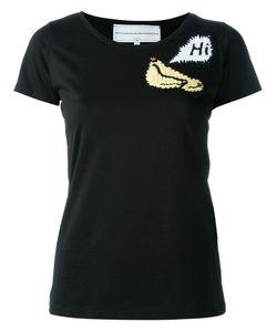 Michaela Buerger | Crazy Banana Knitted Appliqué T-Shirt