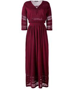 Roberto Collina | Macramé Detail Long Dress