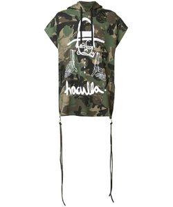 Haculla   Camouflage Print Shortsleeved Hoodie